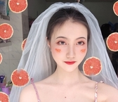 新娘頭紗 頭紗女新娘短款韓式簡約頭紗頭飾超仙網紅拍照道具森系頭紗白 莎拉嘿呦