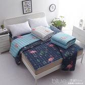 床墊學生宿舍夏季透氣薄款榻榻米墊子1.2米1.5m床1.8m床墊被褥子 YYJ深藏blue