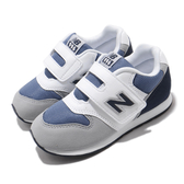 New Balance 小童款深藍灰色復古運動鞋-NO.IZ996PNV