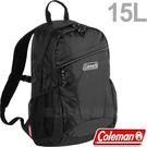 Coleman CM-32866黑 15L健行者背包/雙肩後背包 兒童書包/登山包健行包/運動旅遊休閒背包