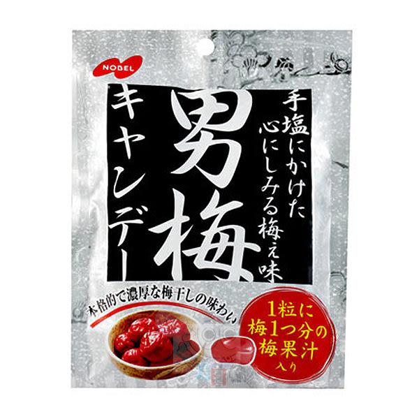NOBEL諾貝爾 男梅糖袋(80g)【小三美日】