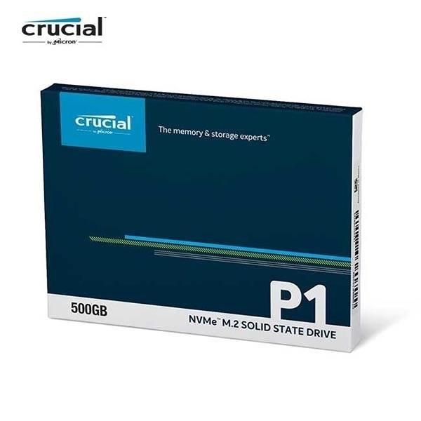 美光 Micron Crucial P1 500G M.2 2280 PCIe SSD 固態硬碟500GB