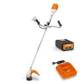 [ 家事達 ]德國 STIHL 充電式割草機- 鋰電36v 硬管式 除草機