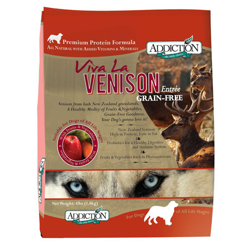 【寵物王國】ADD自然癮食-無穀鹿肉全犬寵食1.8kg
