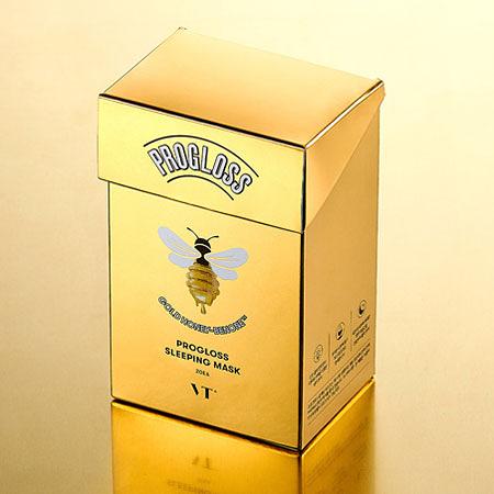 韓國 VT 黃金蜂蜜睡眠面膜 (盒裝/20入) 4mlx20 面膜 晚安面膜 睡眠面膜 保濕