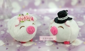 一定要幸福哦~~幸福可愛豬、婚禮小物、送客禮