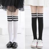 兒童絲襪連褲襪春秋薄款女童打底褲中大童拼接舞蹈襪寶寶白色襪子 全館免運