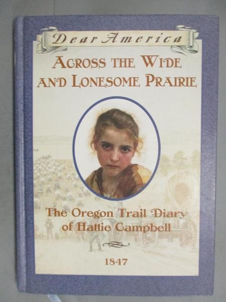【書寶二手書T7/原文小說_GJN】Across the Wide and Lonesome Prairie_Krist