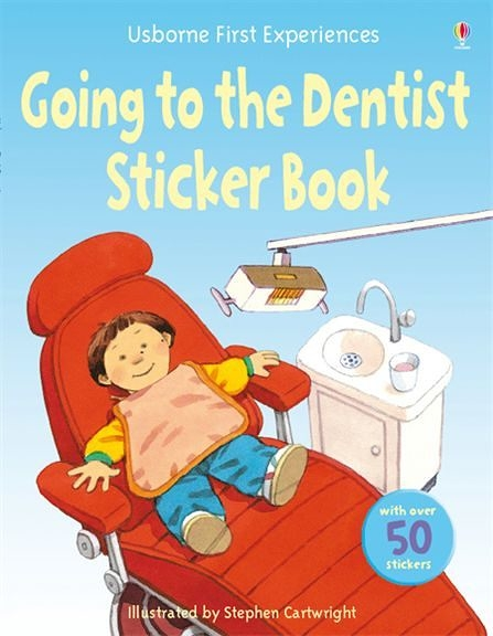 Going To The Dentist Sticker Book 故事貼紙書:看牙醫