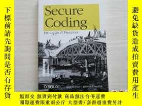 二手書博民逛書店secure罕見coding: principles and p