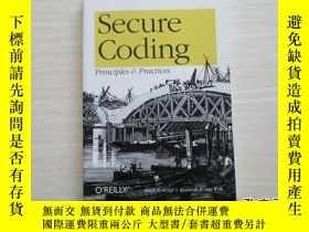 二手書博民逛書店secure罕見coding: principles and p