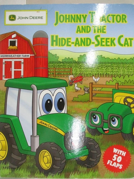 【書寶二手書T1/少年童書_EFH】Johnny Tractor and the Hide-and-Seek Cat_West