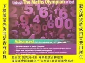 二手書博民逛書店Maths罕見Olympiad Unleash The Maths Olympian In You !Y234