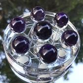 『晶鑽水晶』紫水晶七星陣/盤*17x20mm直徑8公分~開發智慧.平穩思緒~烏拉圭紫