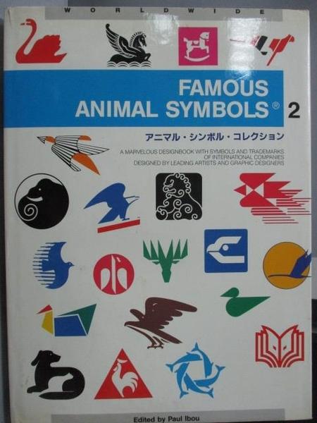 【書寶二手書T4/設計_FGQ】Famous Animal Symbols(2)