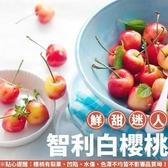 【果之蔬-全省免運】智利9.5R白櫻桃1KG±10%