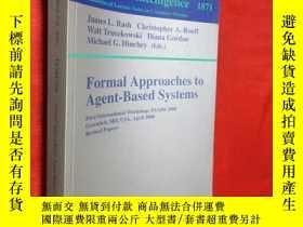 二手書博民逛書店Formal罕見Approaches to Agent-Base