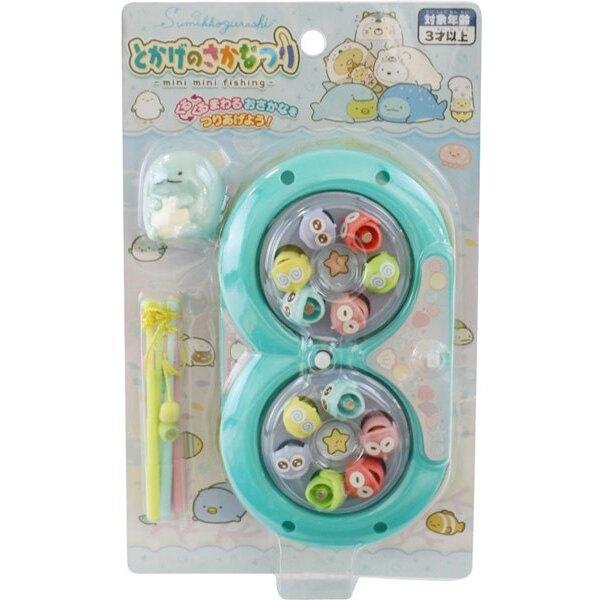 【角落生物 電動釣魚盤】角落生物 電動旋轉釣魚盤 玩具 角落小夥伴 日本正版 該該貝比日本精品