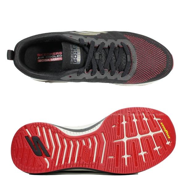 (B8) SKECHERS 男鞋 GORUN PULSE慢跑鞋 運動鞋 220096BKRD 黑紅 [陽光樂活]