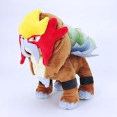 尼德斯Nydus 日本正版 POKEMON 精靈寶可夢 神奇寶貝 二世代 絨毛玩偶 娃娃 三神獸 炎帝 約24cm