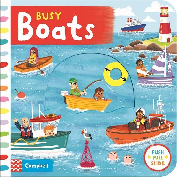 Busy Boats 繁忙的船隻操作書