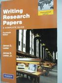 【書寶 書T5 /大學文學_YGG 】Writing Research Papers_James D Jr Leste