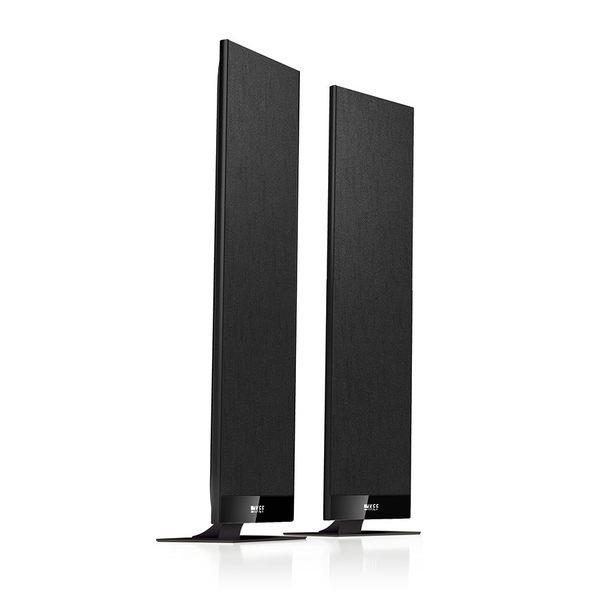 《名展音響》全新公司貨 英國KEF T301 黑色 (一對) 衛星揚聲器 ~薄型低音單體加強更震撼的低頻效果