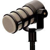 新品預購【RODE】PODMIC 廣播級動態麥克風 內建爆音過濾器 可搭配 Caster Pro 直播 動圈式 正成公司貨