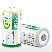 【DQ207】可充電電池1號1入 BTY鎳氫電池8000mah 熱水器電池 EZGO商城