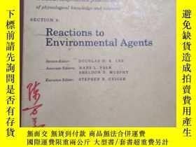 二手書博民逛書店Reactions罕見to Environmental Agen
