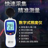數字光照度計高精度照度儀測光流明光度亮度儀光照強度測試儀 智聯