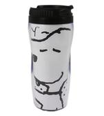 【卡漫城】Snoopy 隨行杯 ㊣版 史奴比 史努比 隨手杯 隨身杯 隔熱水杯 隨手壺 台製 380cc