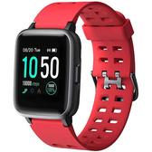 YAMAY- 男女智能手錶兼容iPhone,三星(紅)