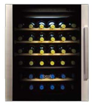 【歐雅系統廚具】BEST 貝斯特 WE-555-R 右把手 嵌入式雙溫冷藏酒櫃