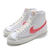 Nike 休閒鞋 Blazer Mid 77 VNTG 白 紅 中國結 新年 童鞋 大童鞋 翡翠【ACS】 DJ2008-161