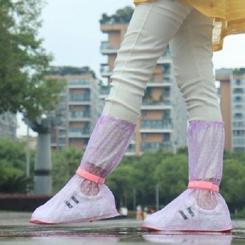 高筒防雨鞋套 男女通用 防水防滑加厚耐磨