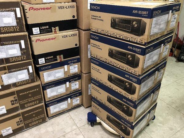 盛昱音響 #日本 DENON AVR-S530BT 環繞擴大機【送好禮+實售挑戰網路最低價│再優惠$$$$】現貨