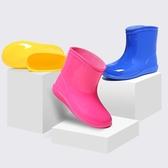 兒童雨鞋小童寶寶雨鞋短筒防滑1-3嬰幼兒童男童女童幼兒防滑雨靴