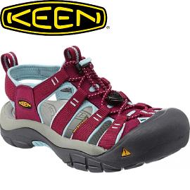 【KEEN 美國 女款 護趾涼鞋〈酒紅/粉紅〉】1012867/護趾涼鞋/涼鞋/休閒涼鞋