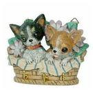 吉娃娃小狗造型掛飾