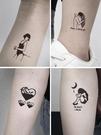 紋身貼 100張!紋身貼防水男女持仿真黑暗系貼紙刺青潮性感1年網紅不永久