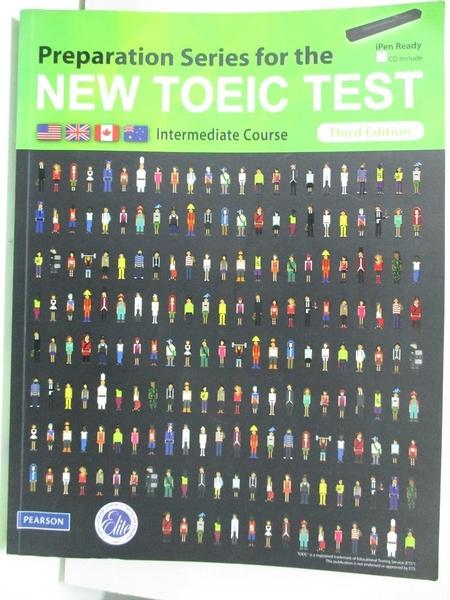 【書寶二手書T5/語言學習_DVY】Preparation Series for the NEW TOEIC TEST_Third Edition_陳品全