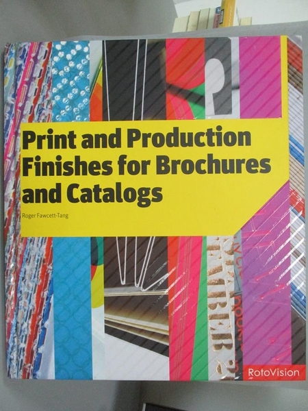 【書寶二手書T9/設計_ZJO】Print and production finishes for brochures