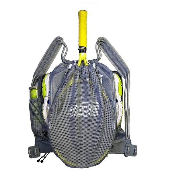 網球包壁球包羽毛球包運動包裝備包訓練包便捷式多功能雙肩背包 名創家居館