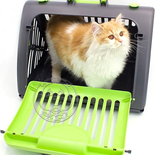 【🐱🐶培菓寵物48H出貨🐰🐹】DYY》小型寵物折疊航空箱運輸籠(限宅配)