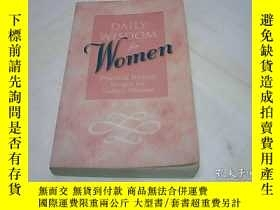 二手書博民逛書店Daily罕見Wisdom for Women: Practic