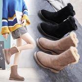 雪地靴女中筒加厚保暖加絨韓版冬季新款百搭防滑學生厚底 全館免運