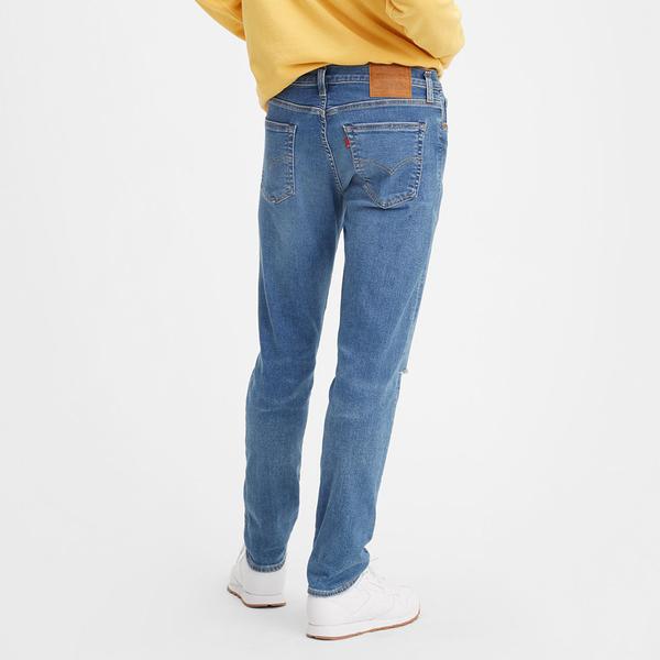 Levis 男款 上寬下窄 / 512低腰修身窄管牛仔褲 / FLEX超彈力布料 / 刷破