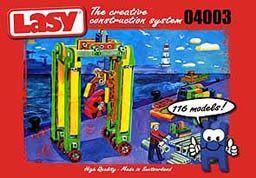 瑞士原廠Lasy積木4003基本組261片!保證瑞士原廠LASY