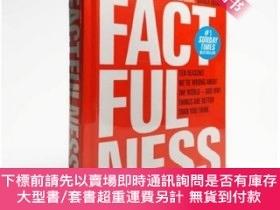 二手書博民逛書店精裝罕見英文原版 Factfulness: Ten reasons We re Wrong About The W